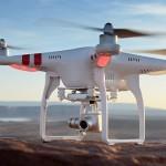 Drohne im Schwebeflug